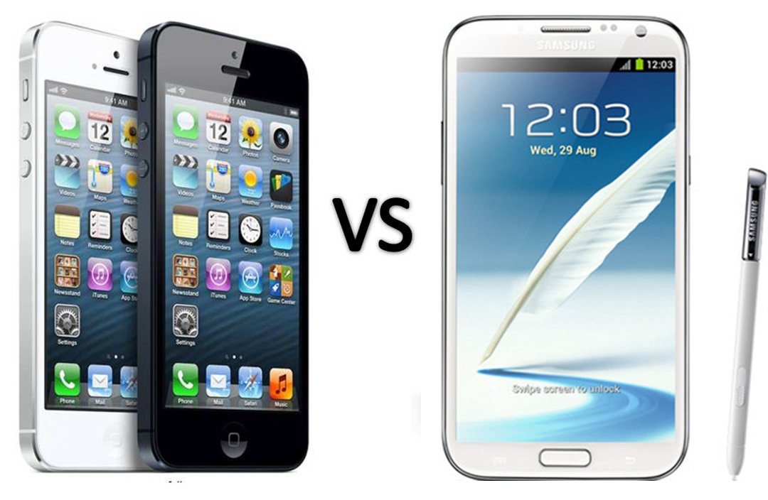 Apple-iPhone-5-vs-Samsung-Galaxy-Note-2
