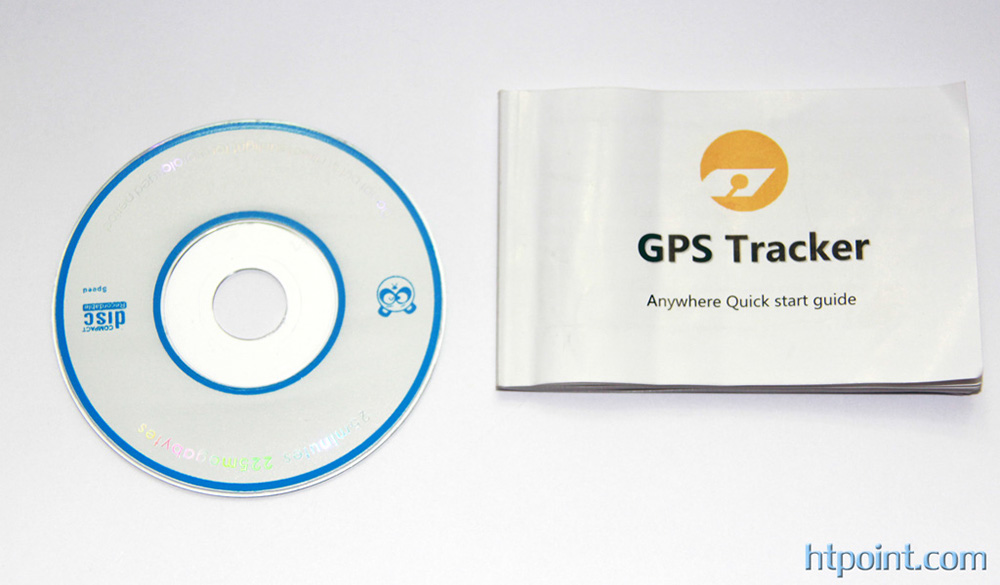 GPS TRACKER ANYWHERE guide