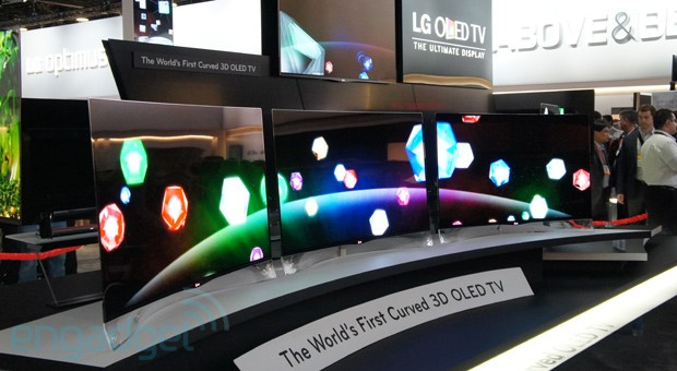 lg curved tvs